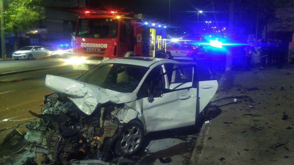 Accidente fatal en Av. Colón